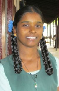 Reaching the Unreached student Ponkowsalya