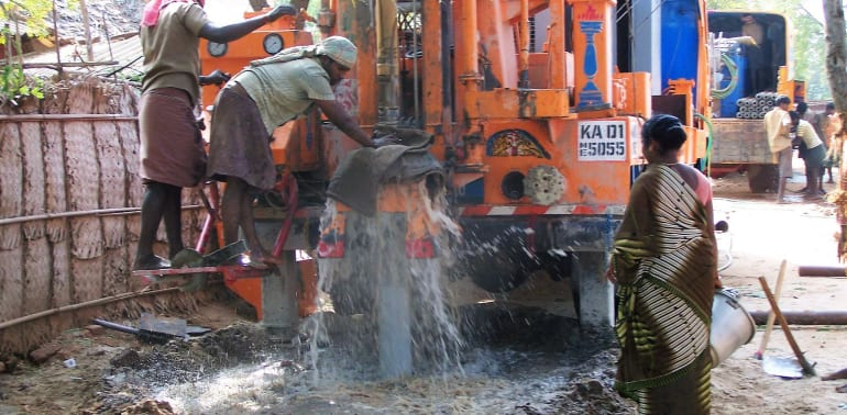 Read: Drill wells for clean water