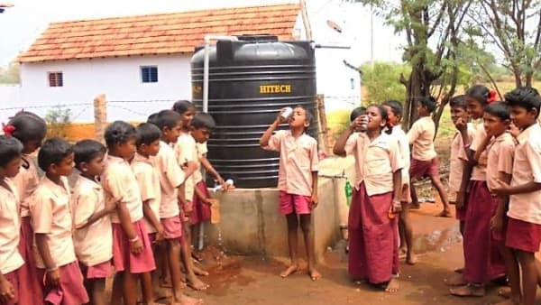 Bringing 'Wales water' to a remote village